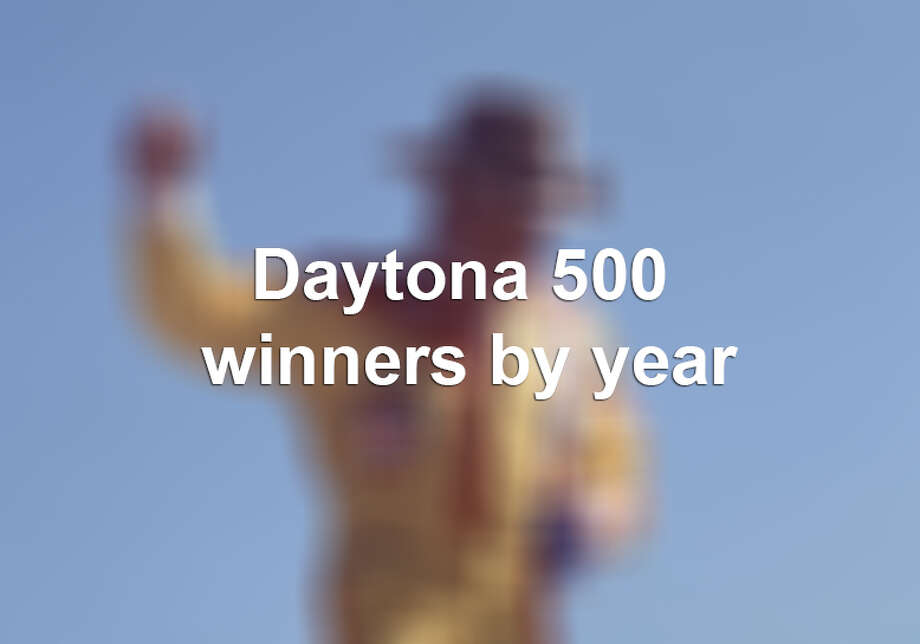 Daytona 500 winners Photo: RacingOne, File Photo / 2010 RacingOne