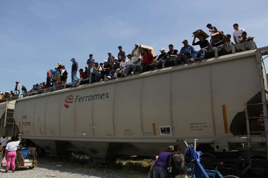 Migrants, minors among them, pass through the southernmost Mexican state of Chiapas on their way north. Many never make it out of Chiapas and are either deported or end up staying on in Mexico's poorest state. Photo: ELIZABETH RUIZ, AFP/Getty Images