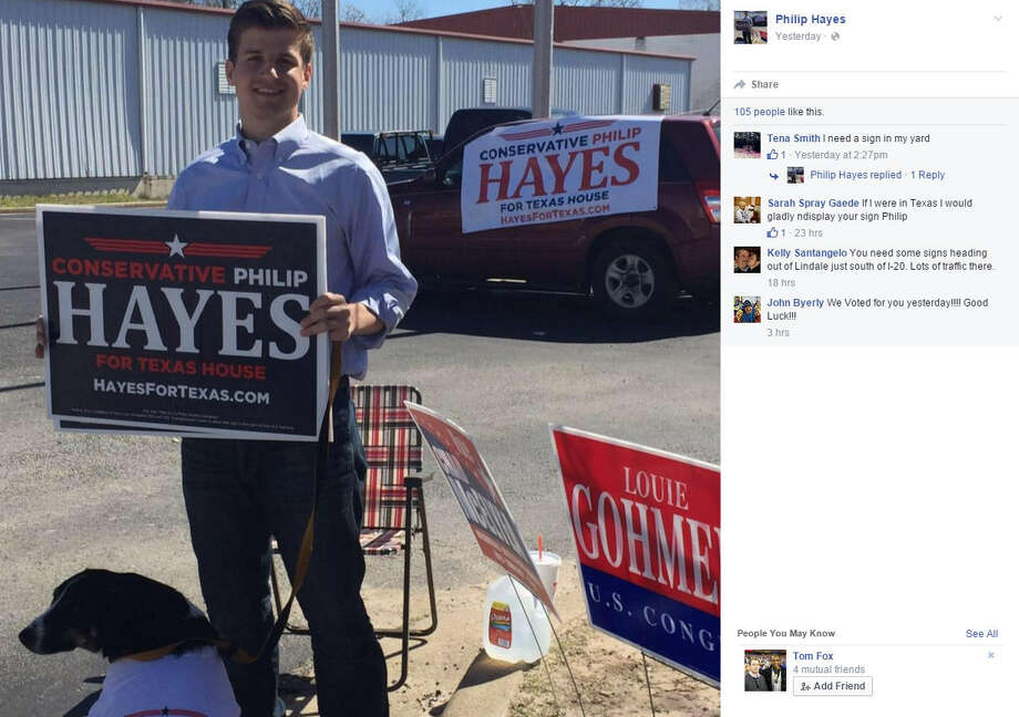Philip Hayes suspended his campaign for Texas House District 5 on Friday after the Tyler Morning Telegraph found he did not graduate from Southern Methodist University. Via Philip Hayes Facebook