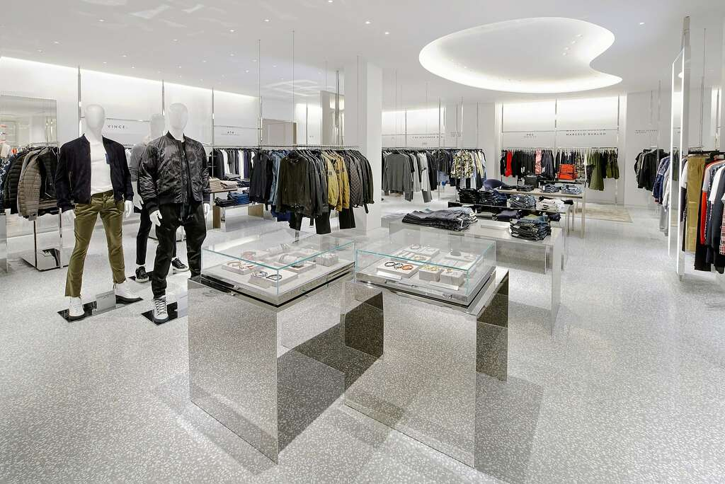 Barneys New York has opened a two-level stand-alone men's store in San Francisco adjacent its women's store to better serve the growing men's market. Photo: Drew Altizer Photography