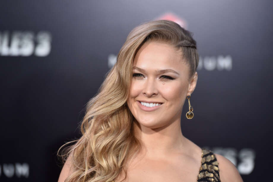 "Ronda Rousey almost lost a finger in what she called a ""freak accident"" on a film set. Photo: Frazer Harrison, Getty Images / 2014 Getty Images"