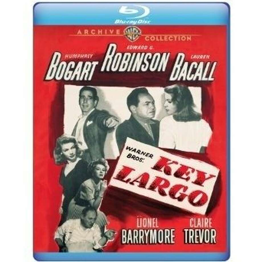 "Blu-ray cover: ""Key Largo"" Photo: Warner Archive"