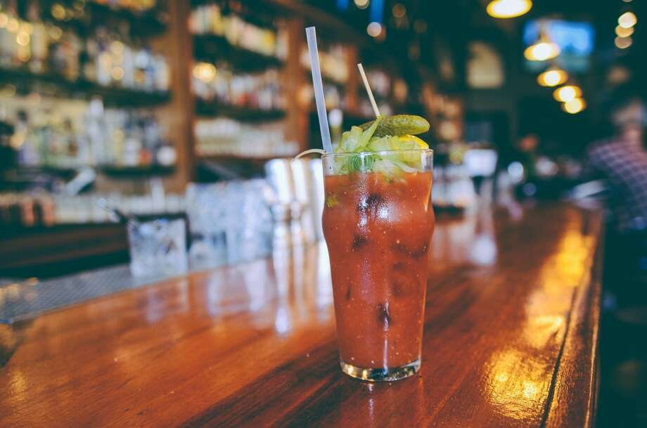 Lord George (555 Second St, San Francisco) The new cocktail and oyster bar recently added on brunch to their menu, giving brunch-loving hordes a new place to flock to. Among the drink options is this Ponzu bloody Mary, pictured, and items such as...  Photo: Lord George