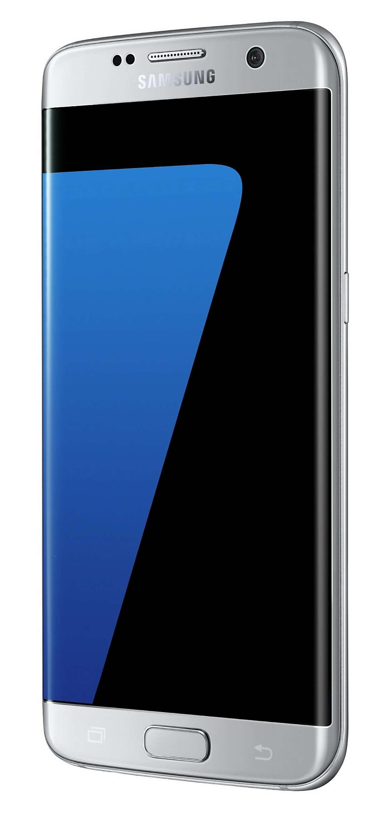 Samsung Galaxy S7 edge in Silver Titanium