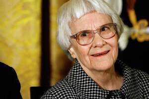 """To Kill a Mockingbird"" author Harper Lee received the 2007 Presidential Medal of Freedom for her contributions to literature. She died Friday at 89."