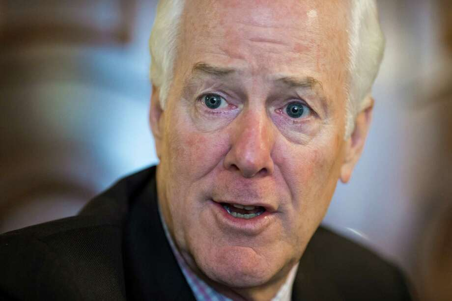 Senate Majority Whip John Cornyn, R-Texas. (AP Photo/J. Scott Applewhite) Photo: J. Scott Applewhite, STF / AP