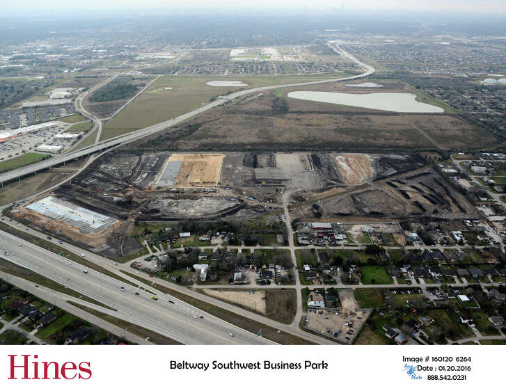 Hines is developing the 75-acre Beltway Southwest Business Park business park in southwest Houston. The first phase will open in June.