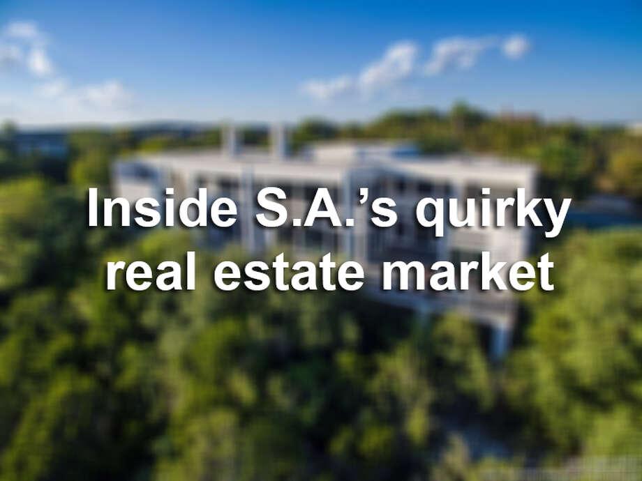 11 unique homes for sale in S.A. Photo: File Photo