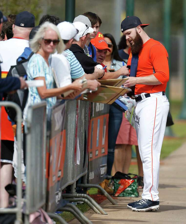 Dallas Keuchel Says He'll Eventually Shave Beard For