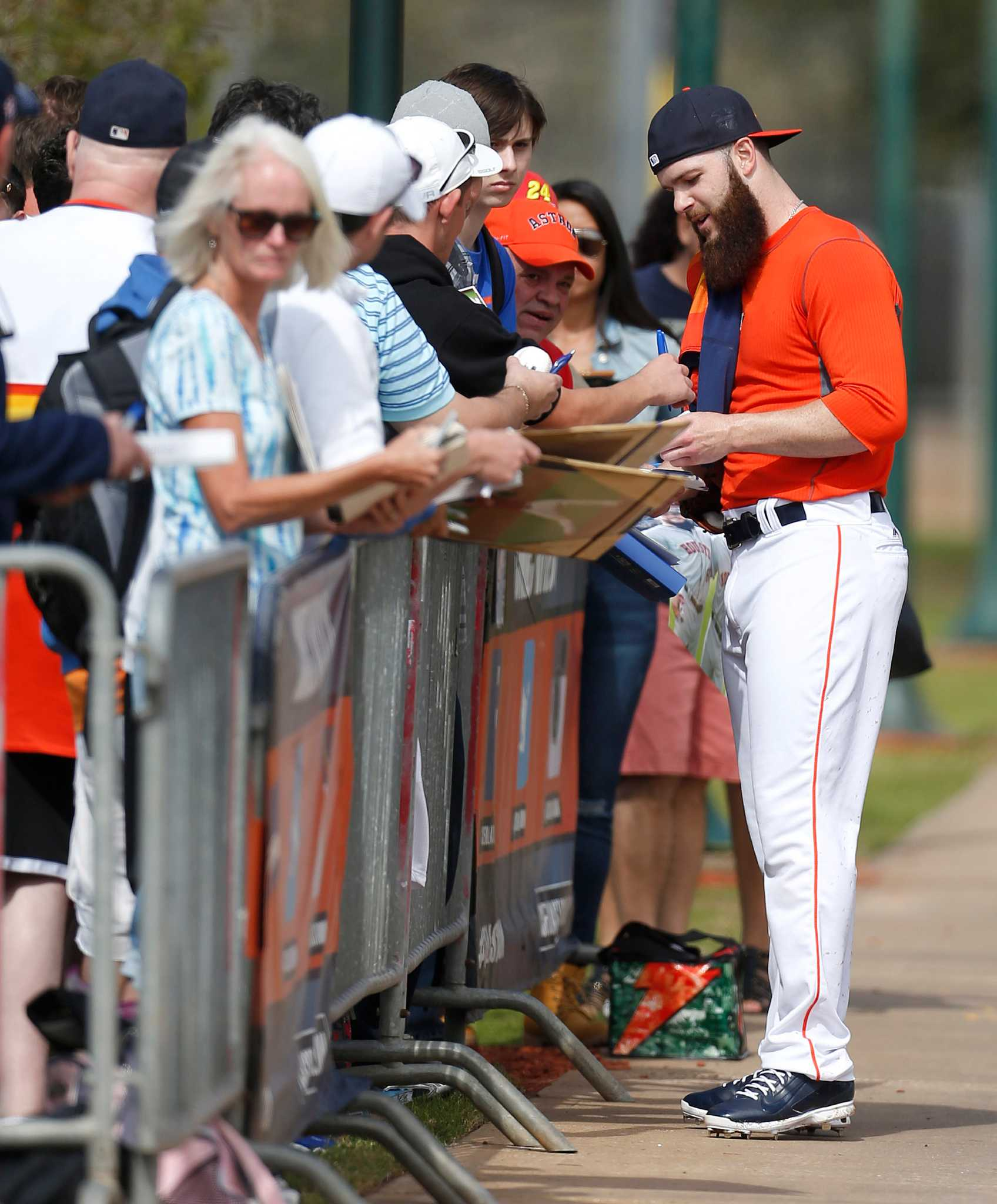 Ap Was There Shock Then Terror As Columbine Attack: Dallas Keuchel Says He'll Eventually Shave Beard For