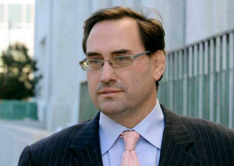 Matthew J. Ryan exits the Federal Courthouse Wednesday, Oct. 13, 2010, in Albany, N.Y. (Michael P. Farrell / Times Union)