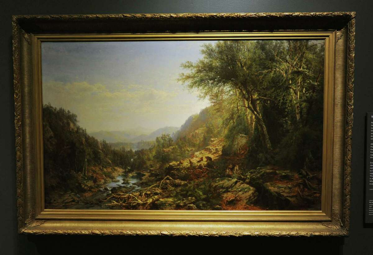 Painting from The Hudson River School on display at the Albany Institute of History and Art on Friday, Feb. 19, 2016 in Albany, N.Y. The Albany Institute is celebrating their 225th anniversary. (Lori Van Buren / Times Union)