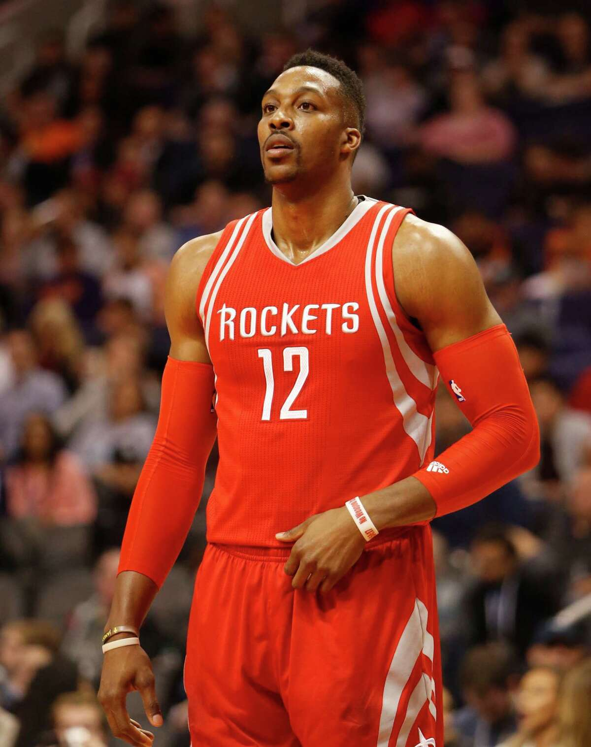 The Rockets listened to offers for Dwight Howard at the deadline, but no deal was struck.