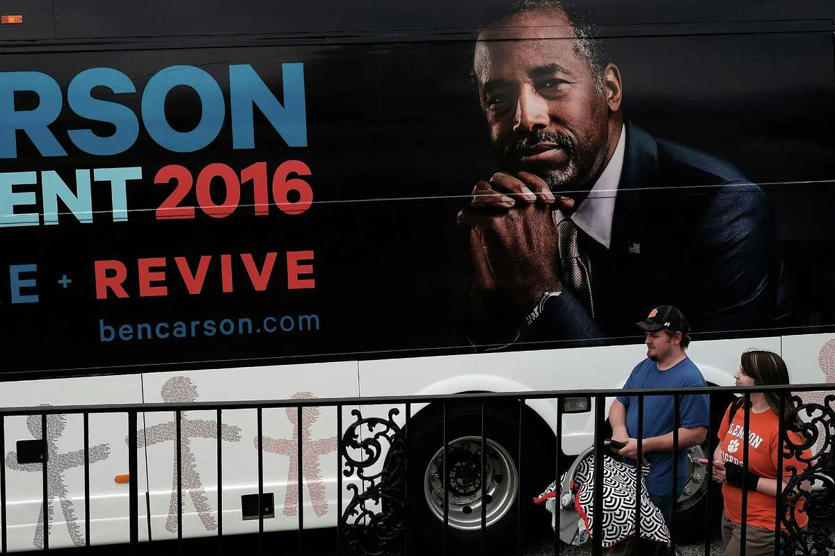 29. Carson America Exploratory Committee, $28,540 Raising over $2 million just in the month of March 2015, this PAC evolved into Carson America in support of Ben Carson's bid for the Republican nomination for president.
