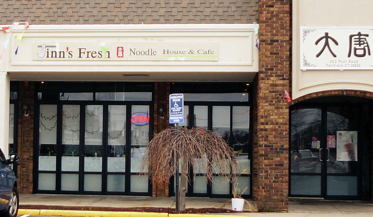 Jinn's Fresh Noodle House has opened at 923 Post Road, inside the shopping center that houses Bob's Stores.