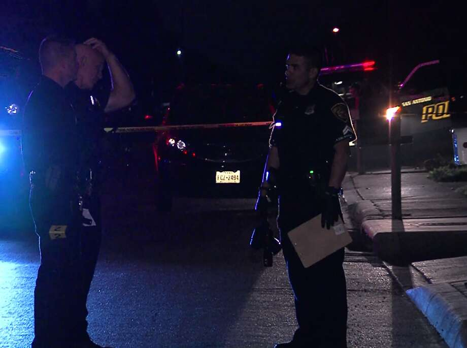 San Antonio Police continue to investigate a shooting on the South Side where man was shot in the right buttock while smoking a cigarette outside his home. Photo: 21 Pro Video