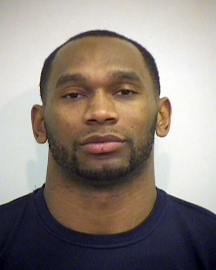 This undated handout photo provided by the Irving Police Department shows Joseph Randle. Former Dallas Cowboy's Randle has been arrested in Texas after it was determined he was wanted for speeding. (Irving Police Department via AP) Photo: Associated Press / Irving Police Department