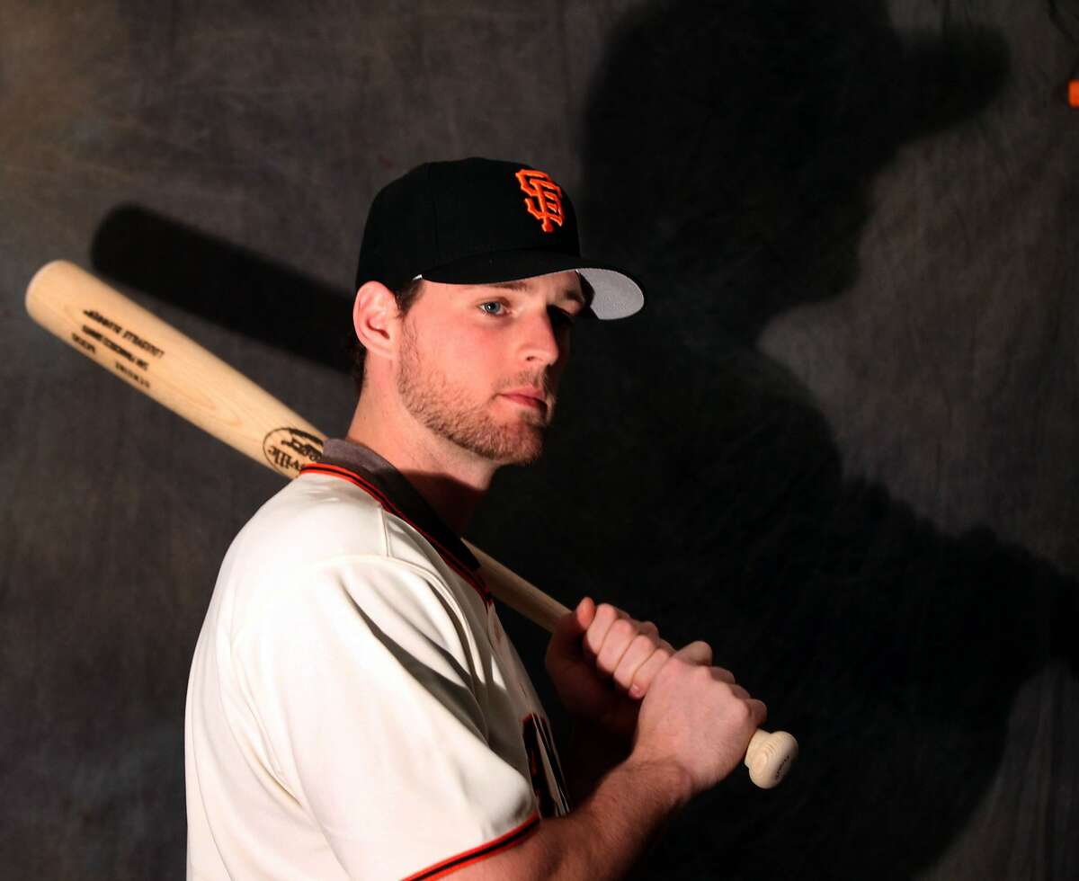 Conor Gillaspie in his final spring with the Giants, 2013, before he was traded to the White Sox.