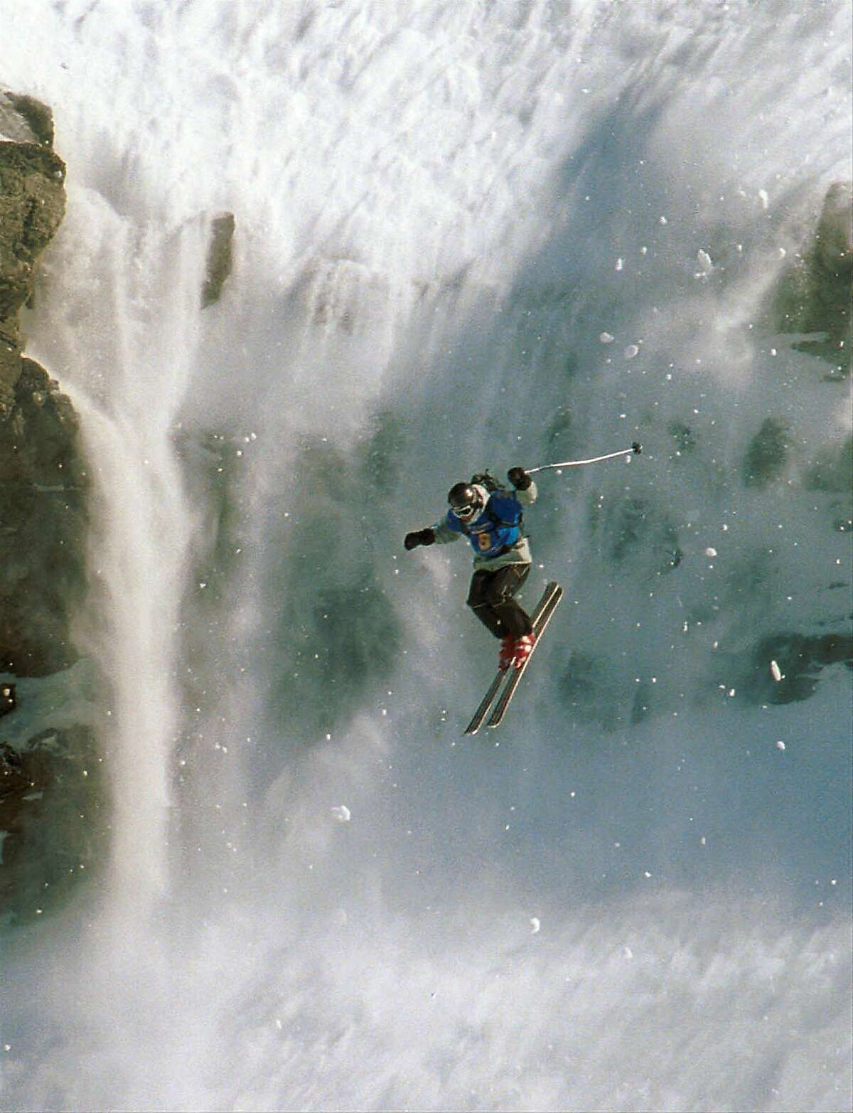 File photo of Rip Curl World Heli Challenge on Aug. 3, 2000. Rip Curl, a popular surf wear company, admitted that their winter 2015 Mountain-wear collection was made in Taedonggang Clothing Factory in North Korea, known for its poor working conditions.