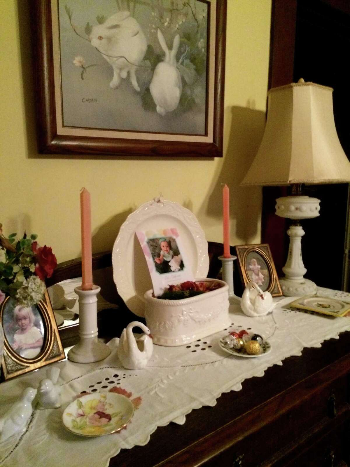 Inside of the house rented by Marie Hatch.Cheryl Graczewski/Special to theChronicle