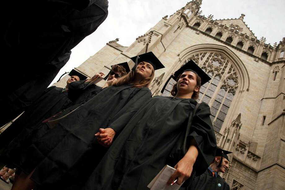 The road to success begins with the choices you make in college. Student loan debt should total less than your projected annual salary. Photo: Michael Nagle /Bloomberg / © 2013 Bloomberg Finance LP