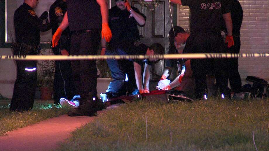 A man died Sunday night after being shot multiple times on the Northeast Side. Photo: 21 Pro Video
