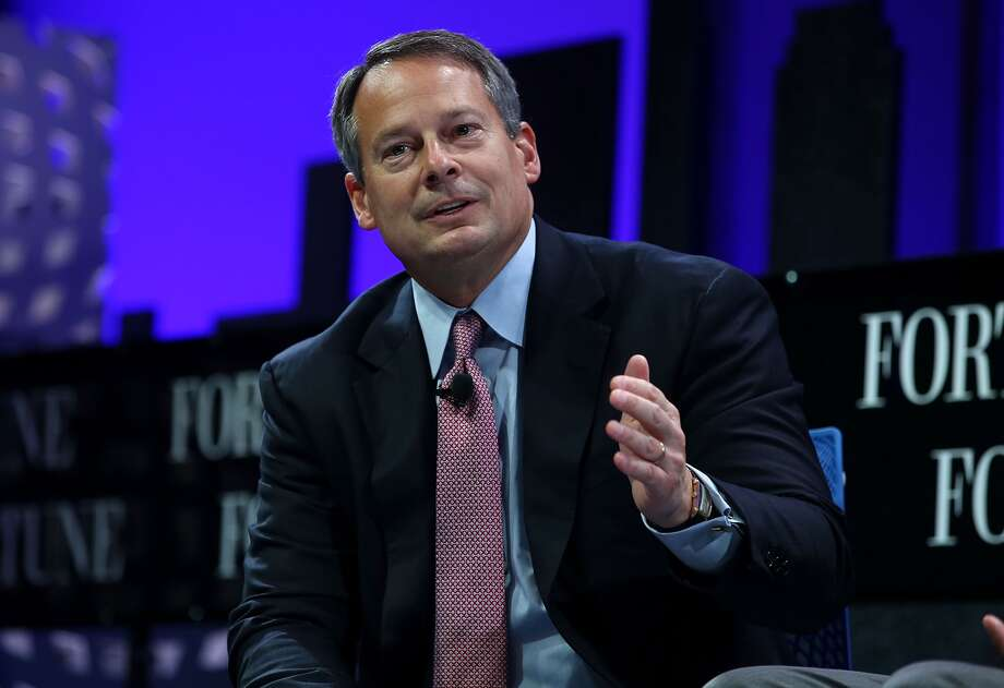 Charles Schwab president and CEO Walt Bettinger speaks during the Fortune Global Forum on November 3, 2015 in San Francisco, California. Photo: Justin Sullivan, Getty