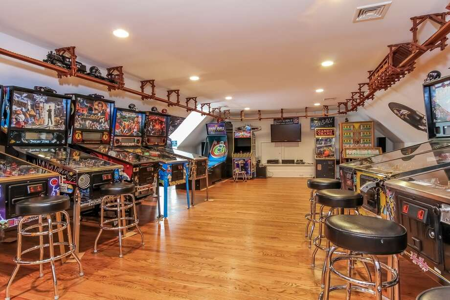 679 Cheese Spring Rd, New Canaan Features: Game room, finished basement, fenced backyard and terraceView full listing on Zillow Photo: Zillow