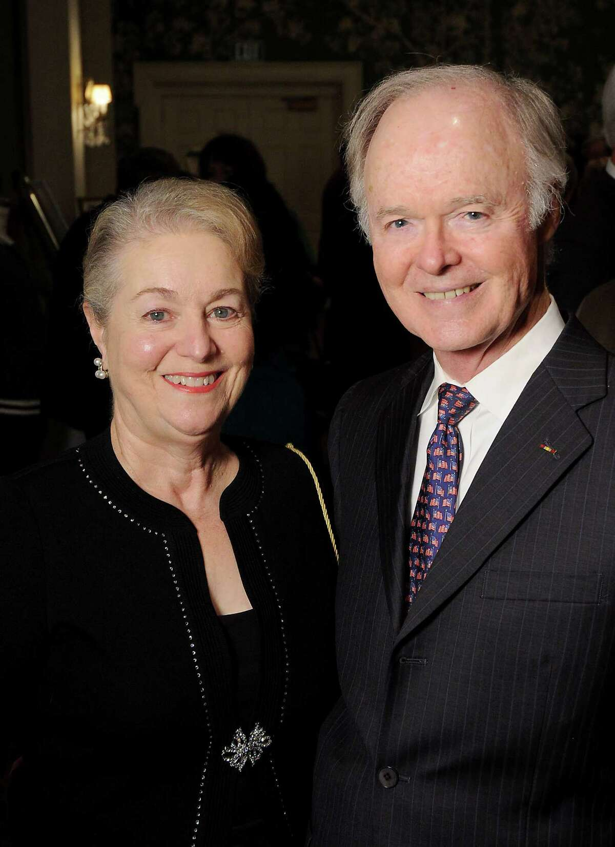 Betty and Jim Key at the Preservation Houston Cornerstone Dinner at the River Oaks Country Club.