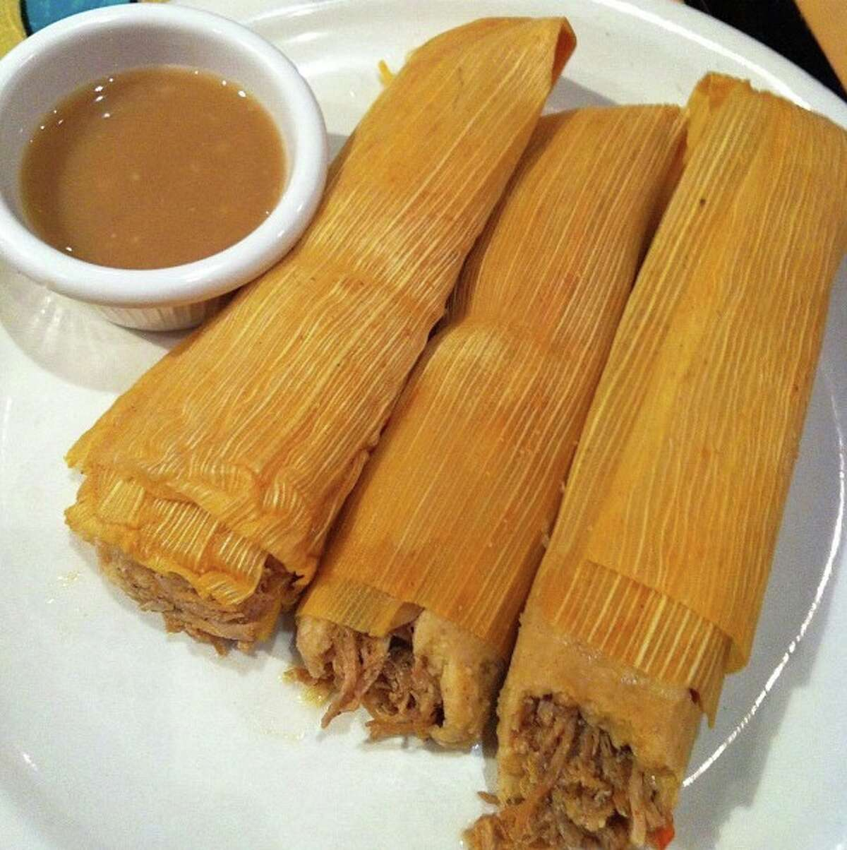 Tamales While they may not work everywhere, making and eating tamales for the holidays is a Texas tradition. They're easy to store, carry and fun to eat.