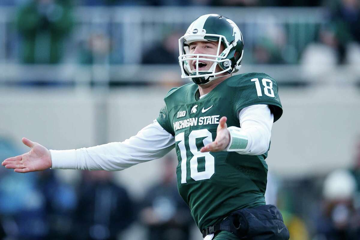 QB Connor Cook (Michigan St.) 2015 Stats: 229-of-408 passing,  3,131 yards, 24 touchdowns, 7 interceptionsNotes: Cook possesses a great resume, good size and was a four-year starter with at a school known to produce NFL quarterbacks. That warrants early-round consideration, but questions about his accuracy, makeup and leadership have some teams spooked. A good showing on the throwing drills and in team meeting rooms could go a long way for his pro prospects.