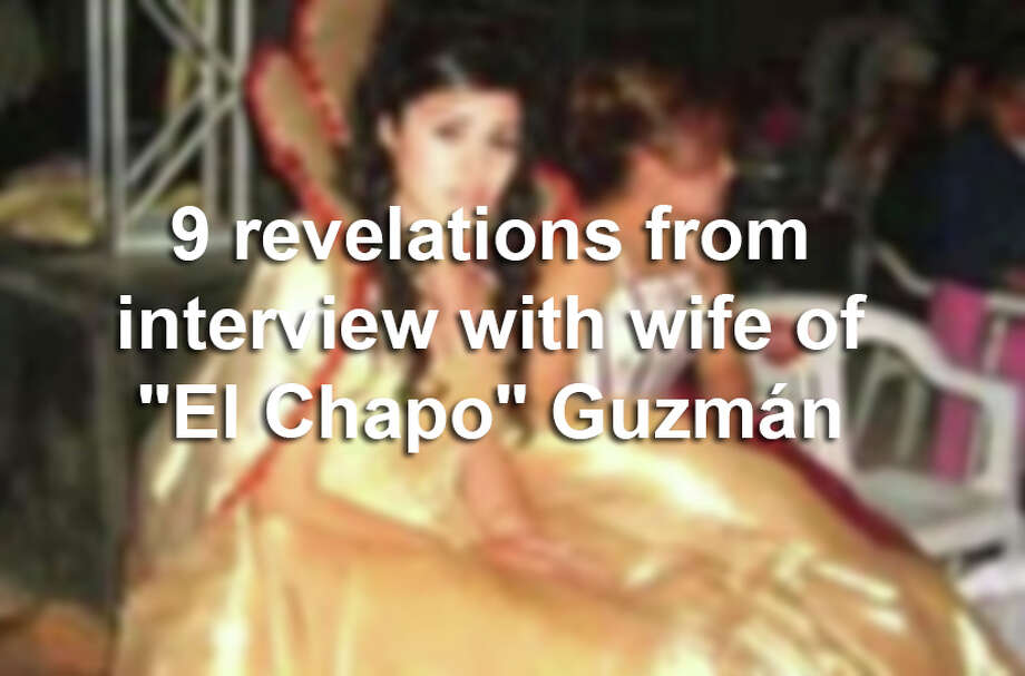 "Scroll through the slideshow for nine revelations from Telemundo's interview with former beauty queen Emma Coronel Aispuro, wife of Sinaloa drug cartel leader Joaquín ""El Chapo"" Guzmán."