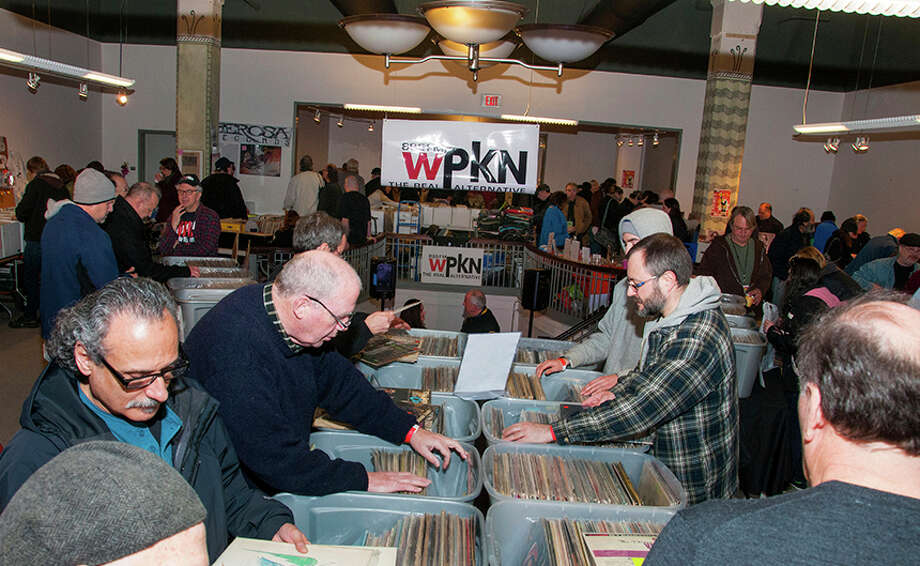 Music Mash '16 a record fair produced by nonprofit, community radio station WPKN 89.5-FM, where thousands of vinyl LPs and CDs will be for sale, will take place on Saturday, March 5, 2016, from 8 a.m. to 6 p.m. in Read's Artspace in downtown Bridgeport. This is a scene from the 2015 event. Photo: Contributed Photo / Connecticut Post Contributed / Connecticut Post