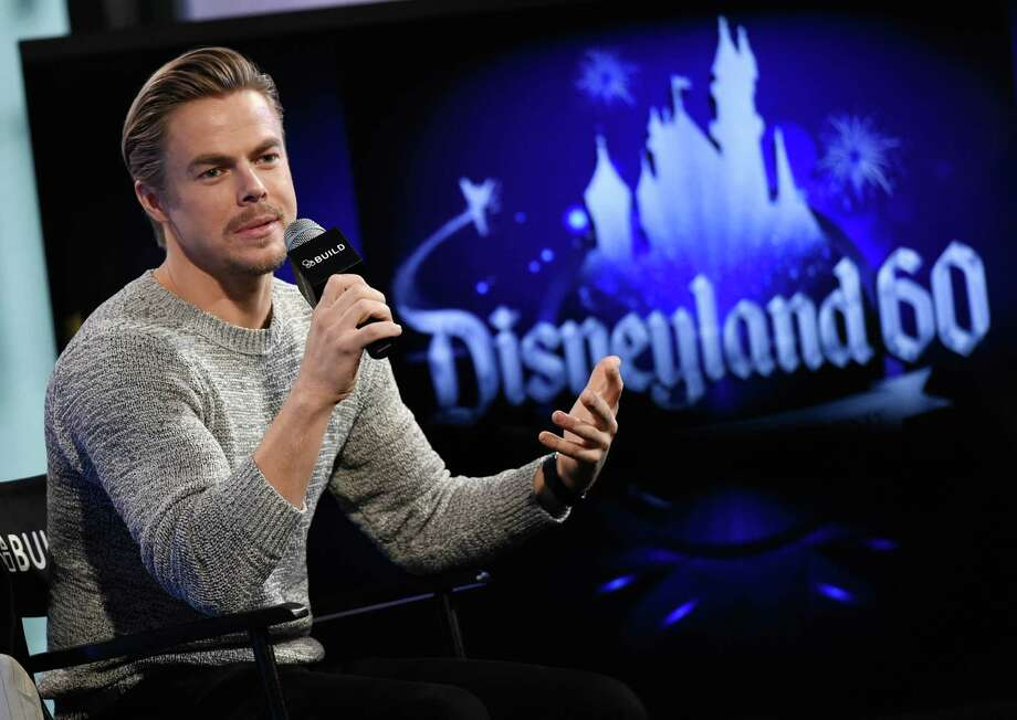 """Actor and dancer Derek Hough hosted """"The Wonderful World of Disney: Disneyland 60, which got lots of love via tweets Sunday night. Photo: Evan Agostini /Associated Press / Invision"""