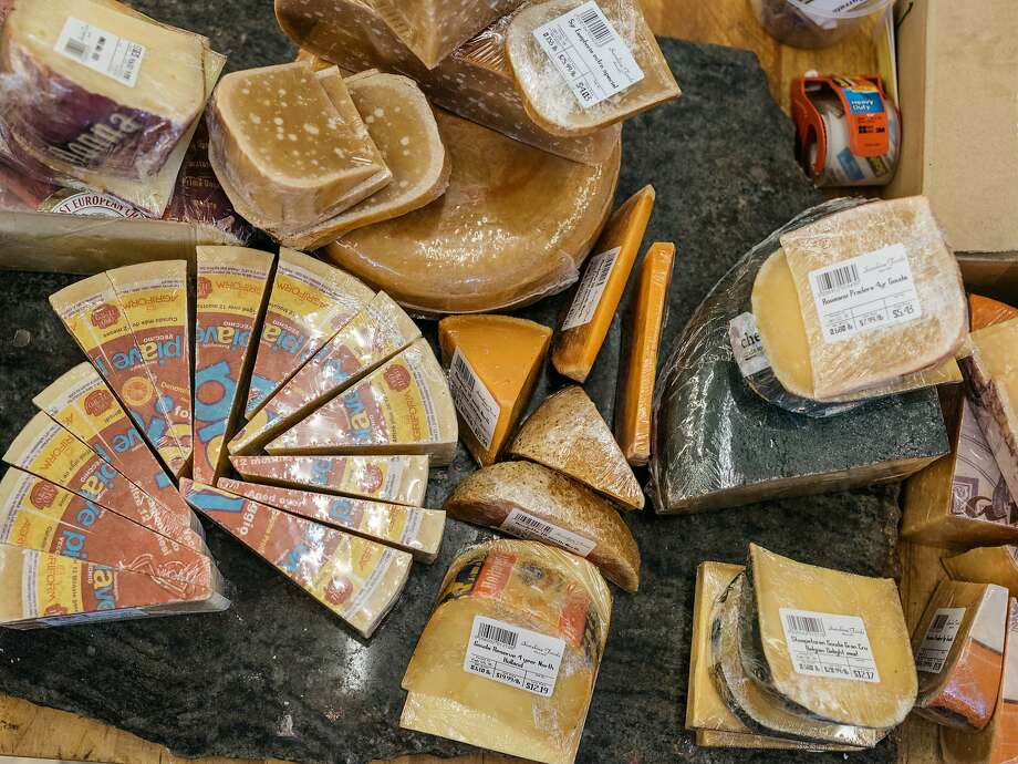 Cheese at Sunshine Foods in St. Helena, Calif., February 8, 2016. Photo: Jason Henry, Special To The Chronicle