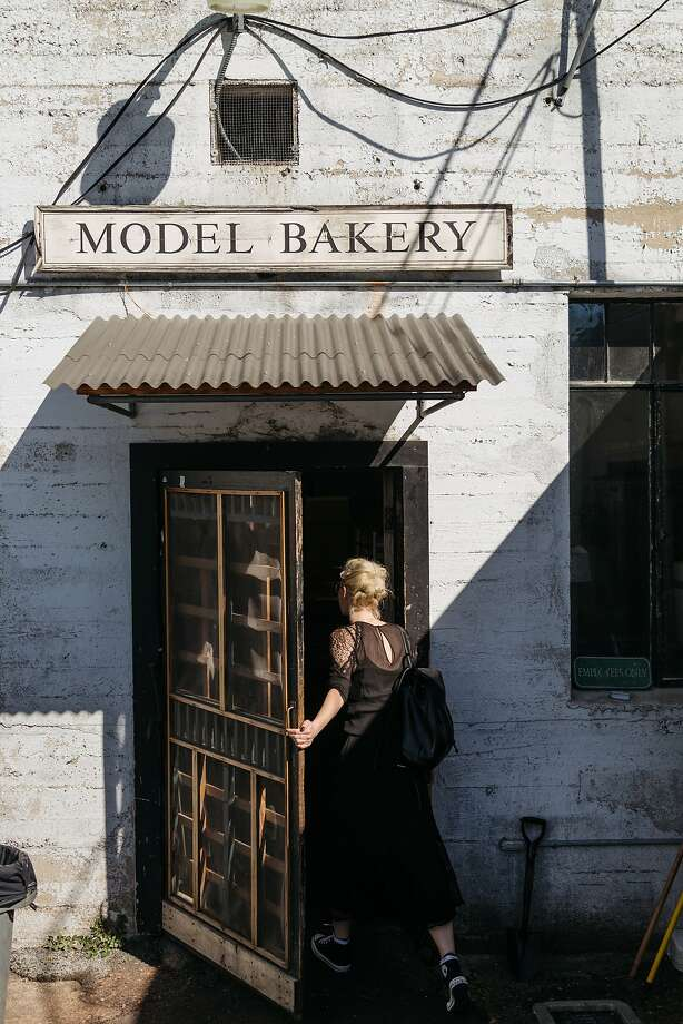 The back door to Model Bakery in St. Helena, Calif., February 15, 2016. Photo: Jason Henry, Special To The Chronicle