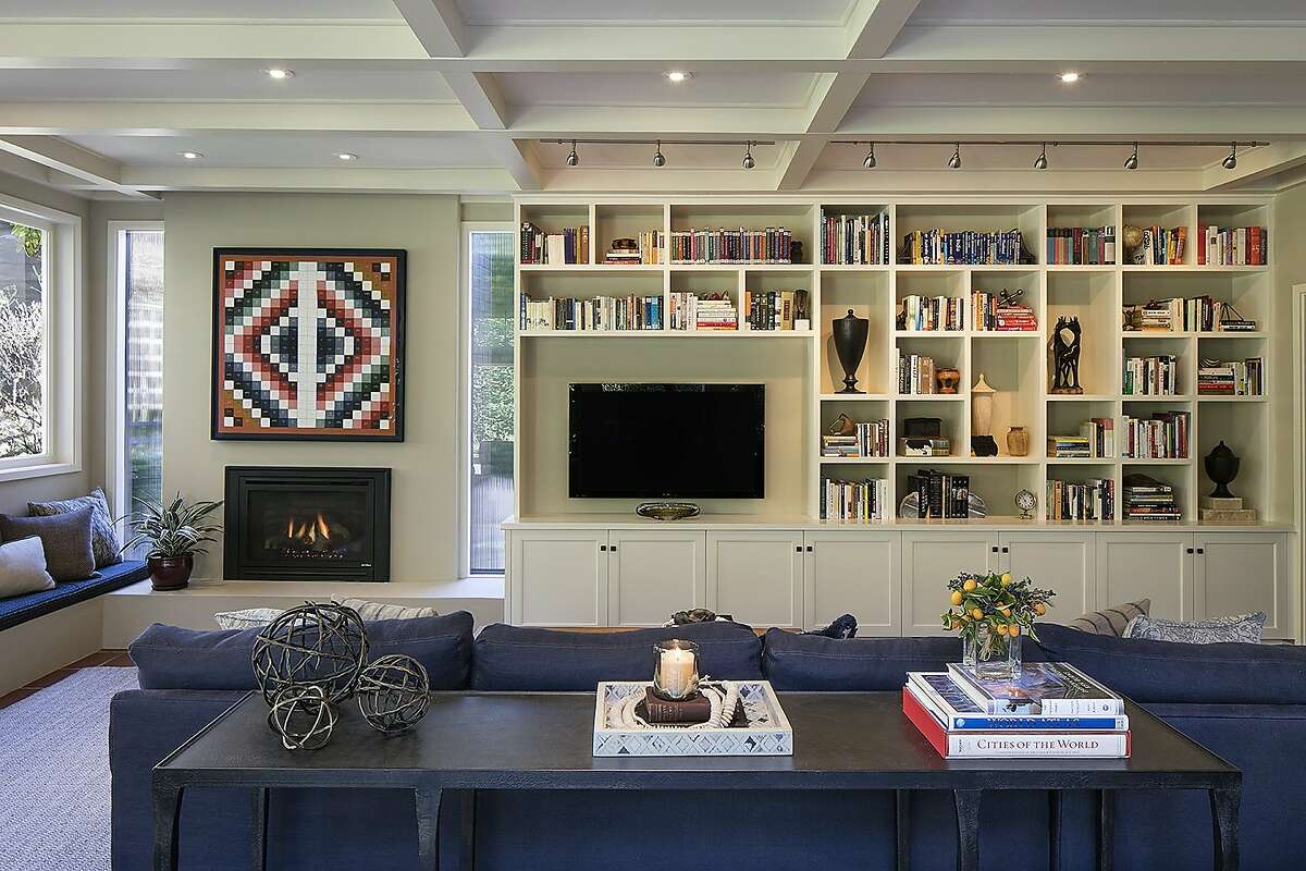 Designer Laura Martin Bovard?•s renovation of a historic Piedmont home. Photo by Eric Rorer