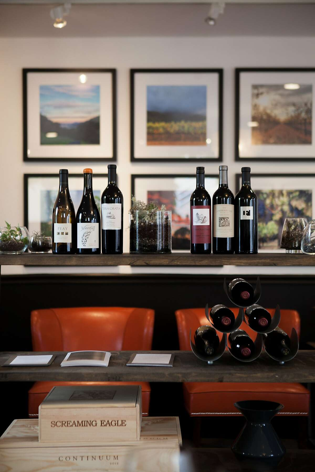 The KLaz cult wine tasting room in Yountville.