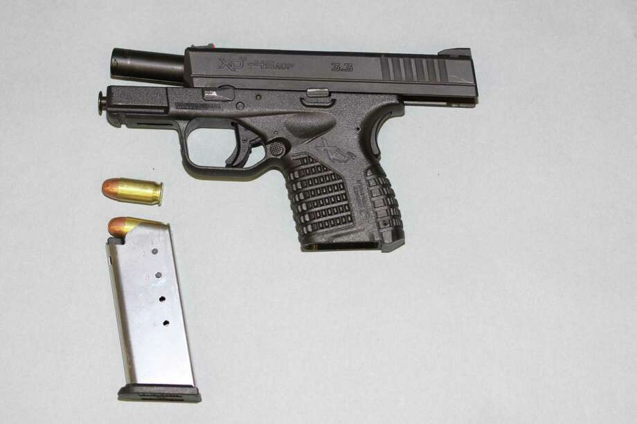 Seattle police say they recovered this firearm from Che Taylor after he was shot by police Sunday in Wedgwood. Photo: Seattle Police Department
