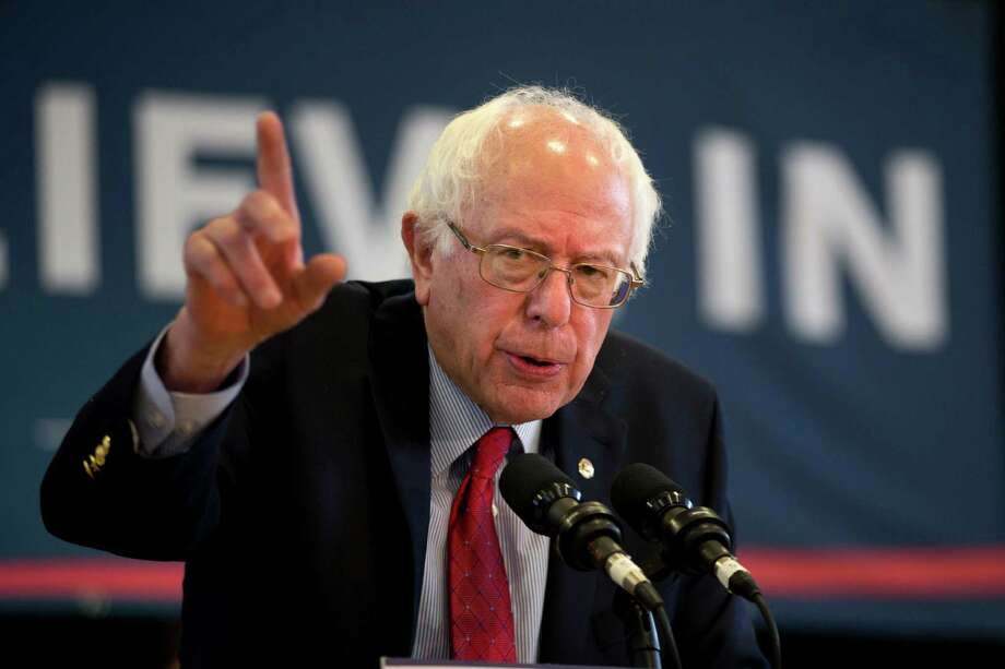 Democratic presidential candidate Bernie Sanders' economic proposals are loaded with fuzzy math. It's not just that his figures assume delusionally large effects. Some show effects that don't even point in the right direction. Photo: Jae C. Hong /Associated Press / AP