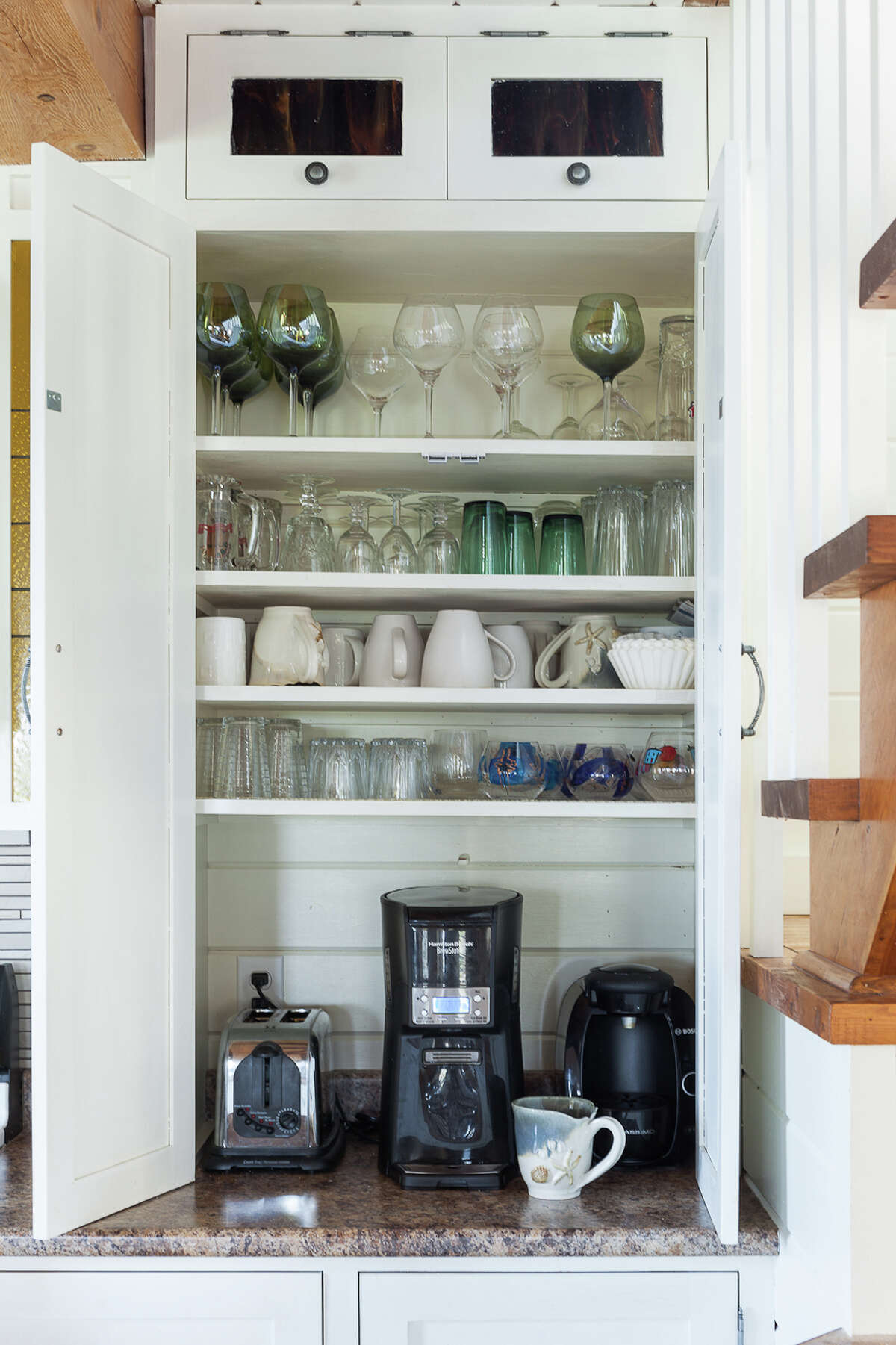 Small appliances drawers, cabinets and garages are extremely popular, says Nino Sitchinava, principal economist for the home website Houzz.