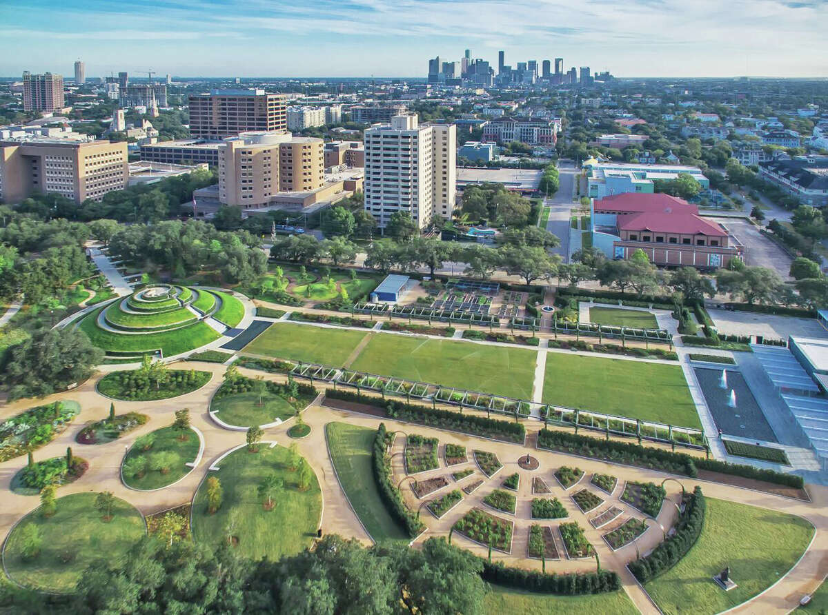 The 2016 Future Landmark award -- which recognizes a recent project that will make an impact -- to the McGovern Centennial Gardens and Cherie Flores Garden Pavilion at Hermann Park. The award is given by Pier and Beam, a group of young members of Preservation Houston.