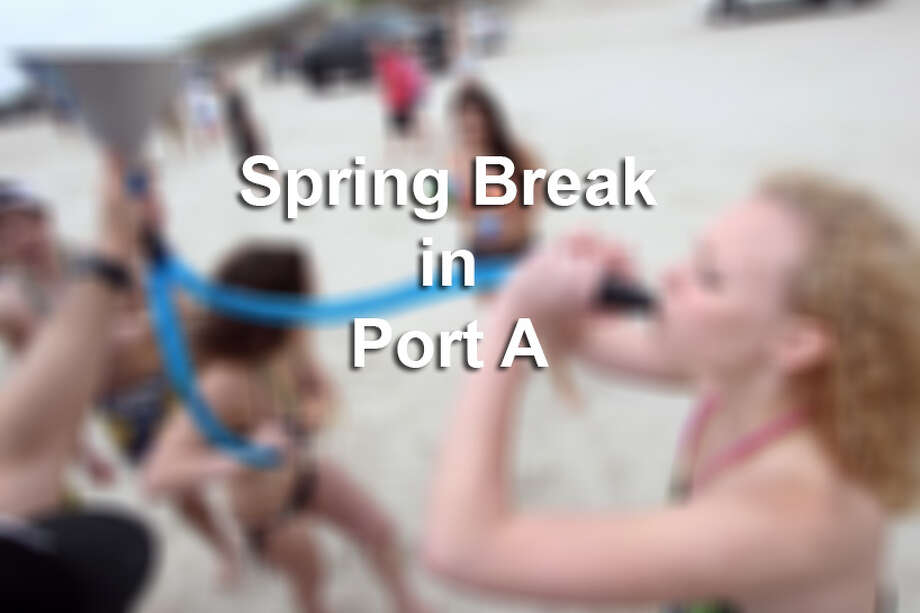 Photos from Spring Break at Port Aransas.