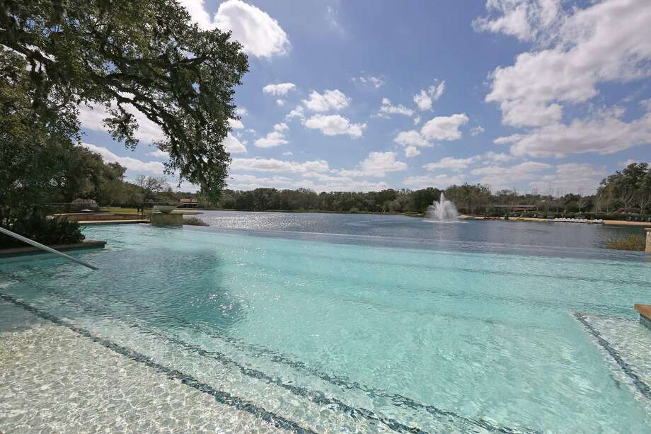 Large swimming pool at the Houston Oaks Family Sports Retreat, a high-end real estate development Friday, Feb. 19, 2016, in Hockley. Photo: Steve Gonzales / © 2016 Houston Chronicle
