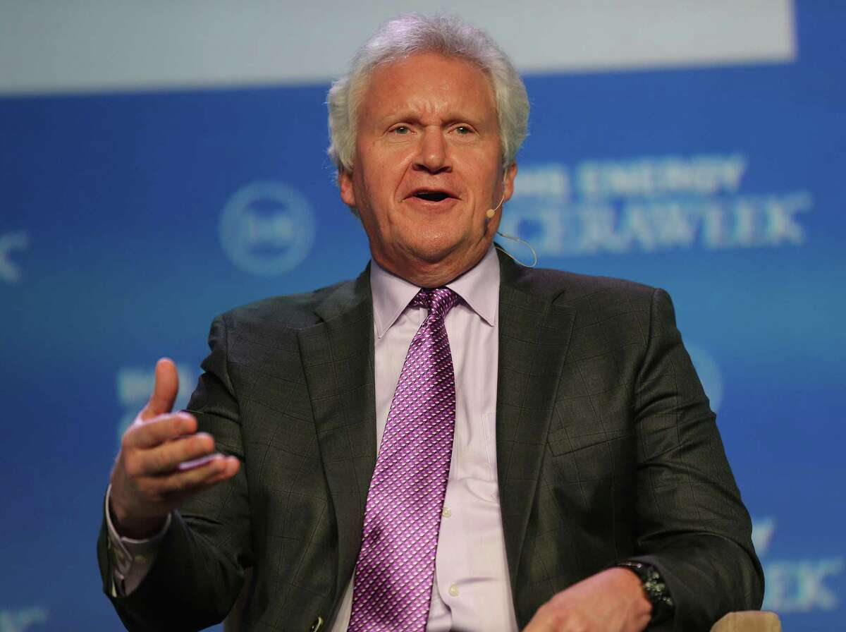 """Jeffrey Immelt says, """"These are like happy days"""" compared to the last recession."""