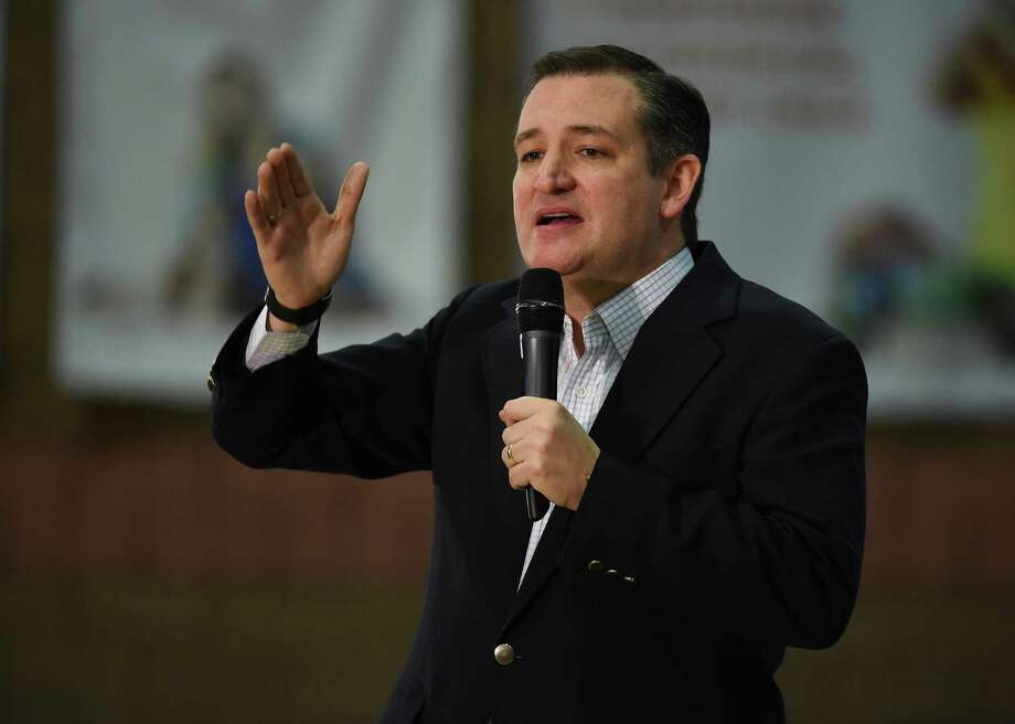 LAS VEGAS, NV - FEBRUARY 22:  Republican presidential candidate Sen. Ted Cruz (R-TX) speaks at a rally at the Durango Hills Community Center on February 22, 2016 in Las Vegas, Nevada. Cruz is campaigning in Nevada for the Republican presidential nomination ahead of the state's Feb. 23 Republican caucuses.  (Photo by Ethan Miller/Getty Images) Photo: Ethan Miller, Staff / Getty Images / 2016 Getty Images