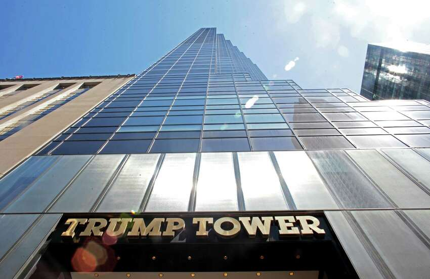 Donald Trump?'s primary residence is a three-story penthouse on the top of Trump Tower in Manhattan. (Washington Post by Yana Paskova.)