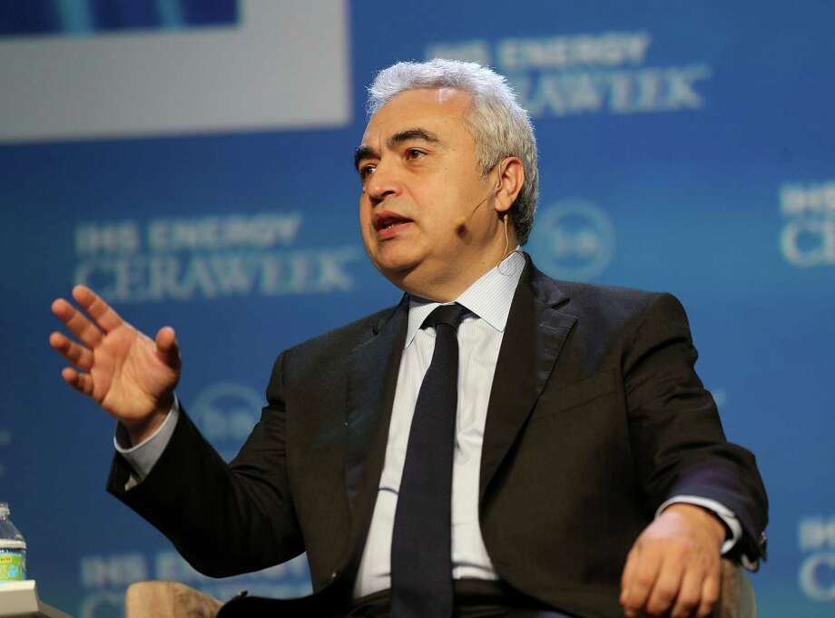 "Fatih Birol, Executive Director of the International Energy Agency HE answers a question during a talk titled ""Energy Markets in Turmoil: The Shape of Things to Come"" during CERA conference at Hilton Americas on Monday, Feb. 22, 2016, in Houston. ( Elizabeth Conley / Houston Chronicle ) Photo: Elizabeth Conley, Staff / © 2016 Houston Chronicle"