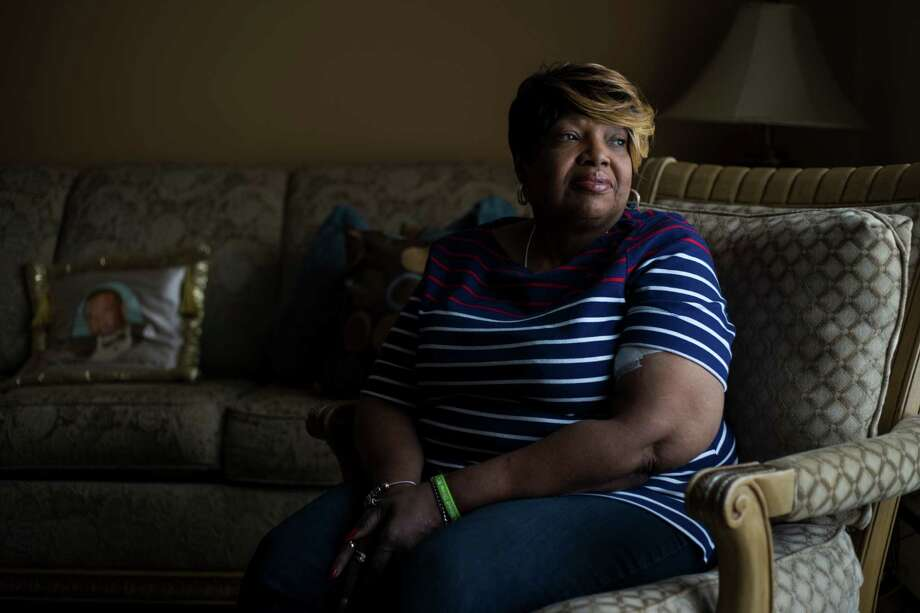 Connie Taylor, who now needs kidney dialysis three times a week, is one of at least 87 people in the Flint, Mich., area sickened by Legionnaires' disease during an outbreak in 2014. Nine of those people died. Photo: Brittany Greeson /New York Times / NYTNS