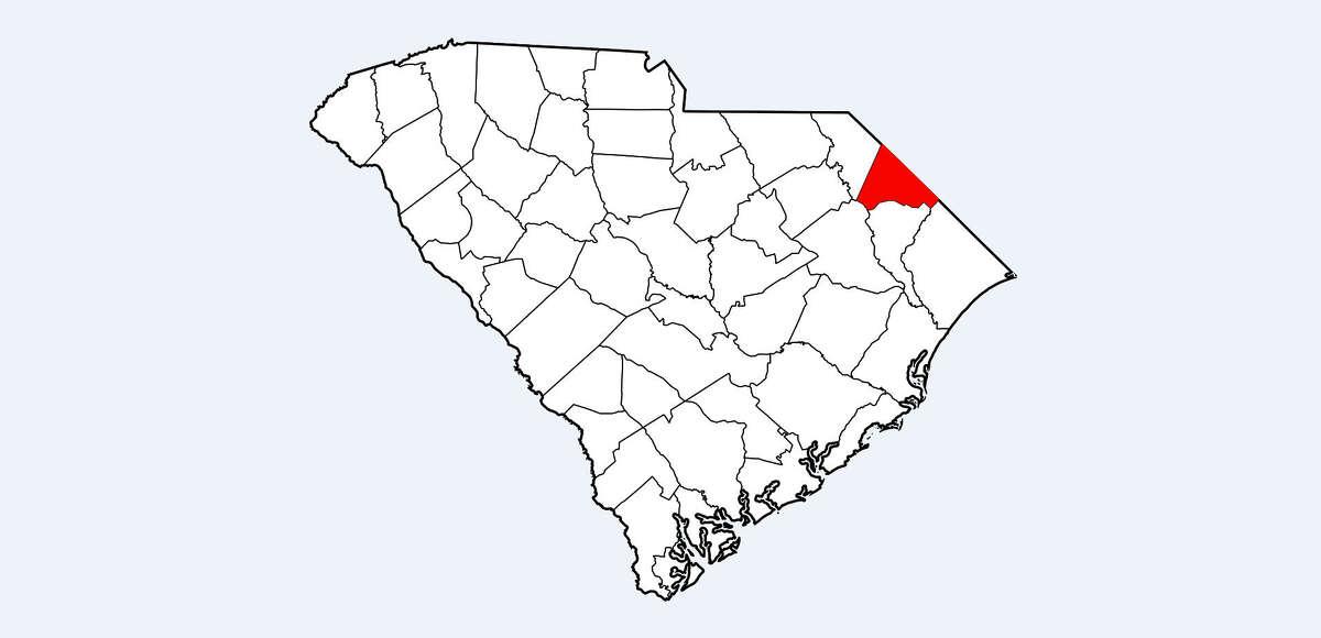 30. Dillon County, South Carolina Population: 31,529 Violent Crimes per 100,000 People: 856.4 Number of Violent Crimes Reported: 270